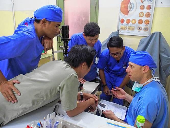 Dr. Shatz in Cambodia